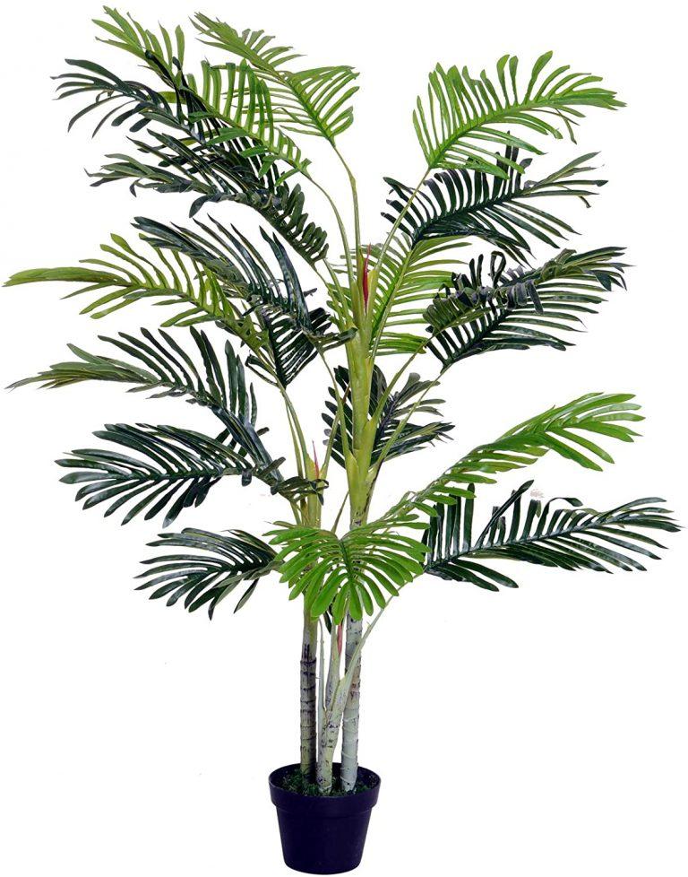 Palma Artificial 150cm con Cañas Naturales