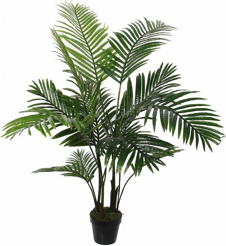 Palmera en Maceta Verde – H120 x d60 cm Planta Artificial