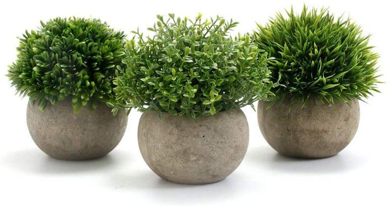 3Piezas, Planta Artificial Decorativa