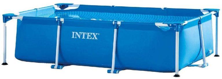 INTEX Pack Piscina Small Frame 260x160x65 cm 2282 litros
