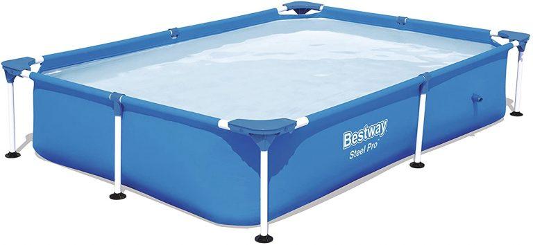 Piscina Desmontable Tubular Infantil Splash Jr. Frame Pool 221x150x43 cm