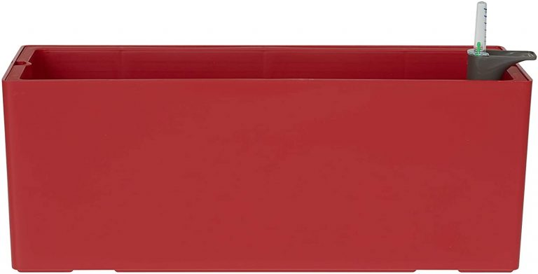 Artevasi Jardinera, Rojo, 50 cm,
