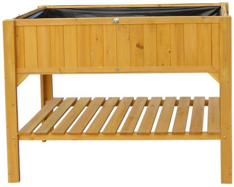 Caseta de Exterior para Cultivos de Suelo Alto, 119 x 57 x 90 cm,