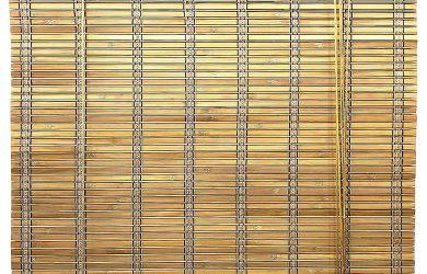 Cortina de Madera persiana Enrollable (60 x 175 cm, Marrón)