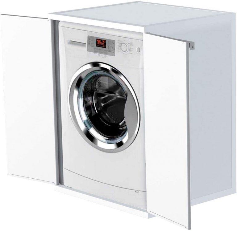 Cubierta de la máquina de Lavar, Blanca
