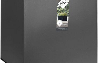 Elho Vivo Matt Finish Square Wheels 40