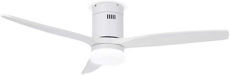 IKOHS LIGHTCALM White - Ventilador de Techo con Luz