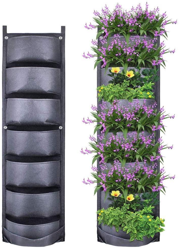 Jardinera Vertical 7 Bolsillo