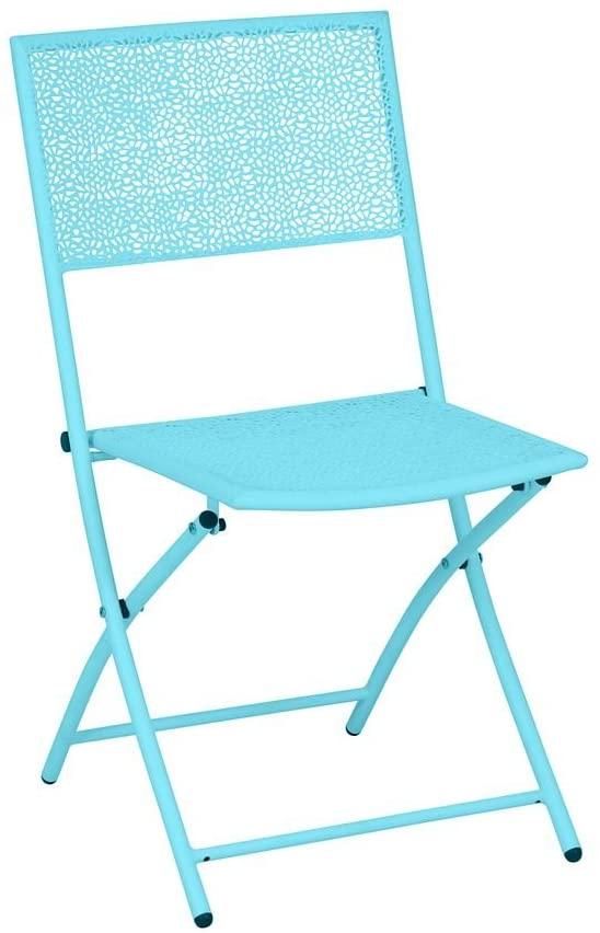 Juego de 2 sillas plegables Mykonos
