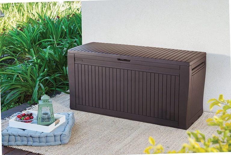 Keter Comfy - Arcón exterior, Capacidad 270 litros