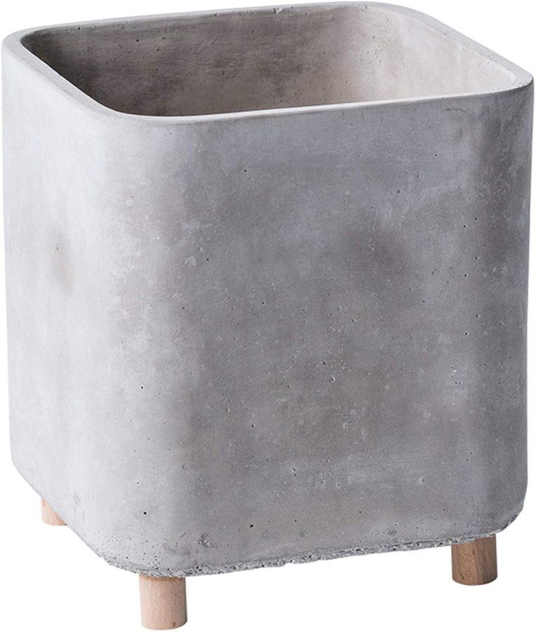 Maceta de cemento