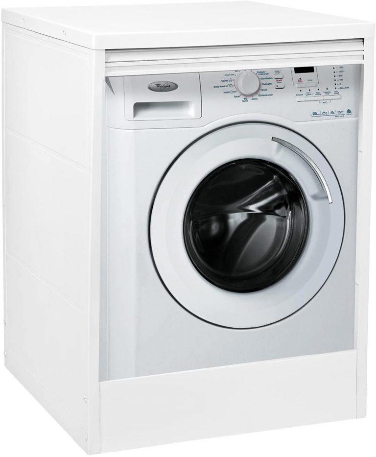 Mobile in resina copri lavatrice in pvc super resistente