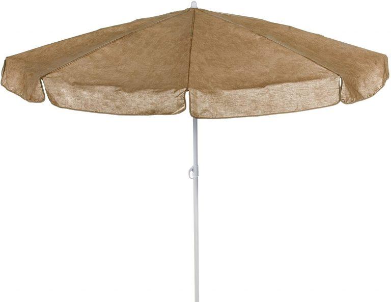 Sonnenschirm 180cm - Sombrilla para Patio, Color Beige