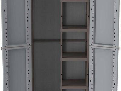 Terry Jwood 368 Armario 2 Puertas con una estanteria Interna con 4 fijos.