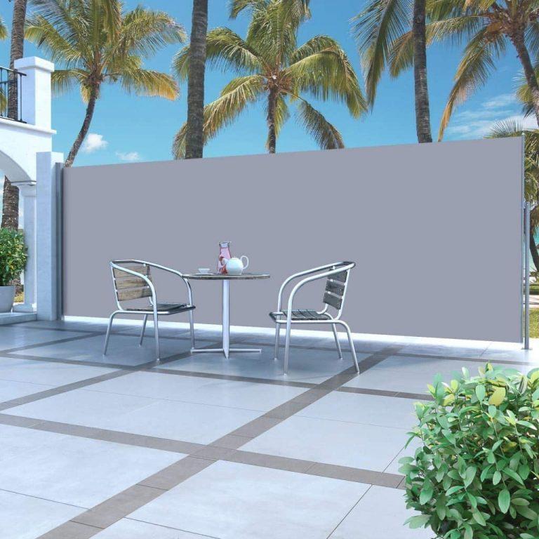 Toldo Lateral de 5 metros para terraza o jardín