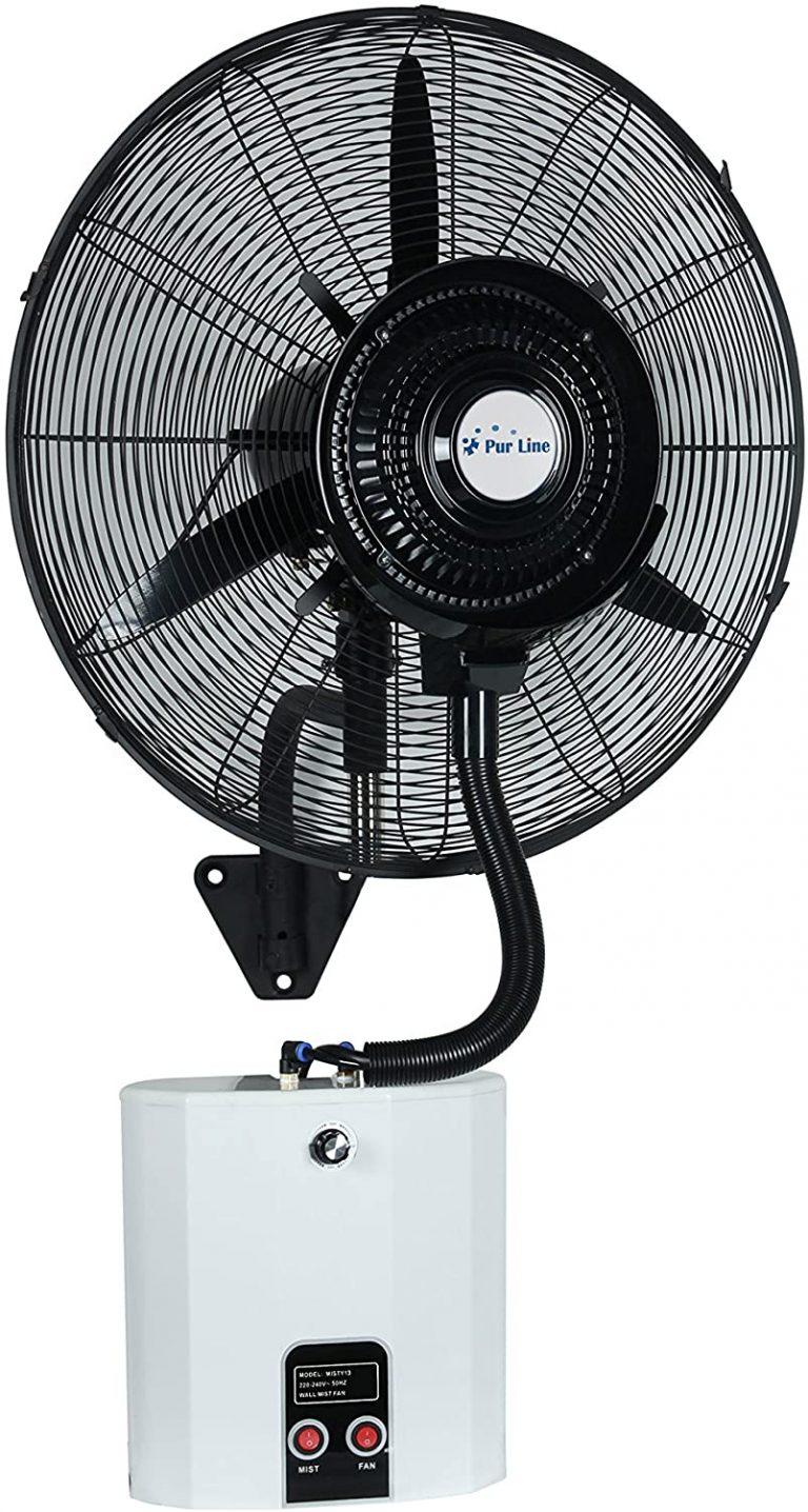 Ventilador Nebulizador Industrial de pared MISTY