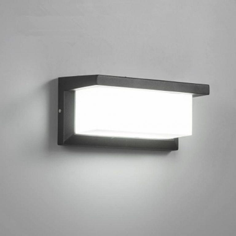 Apliques de Pared LED 12W Lámpara Exterior