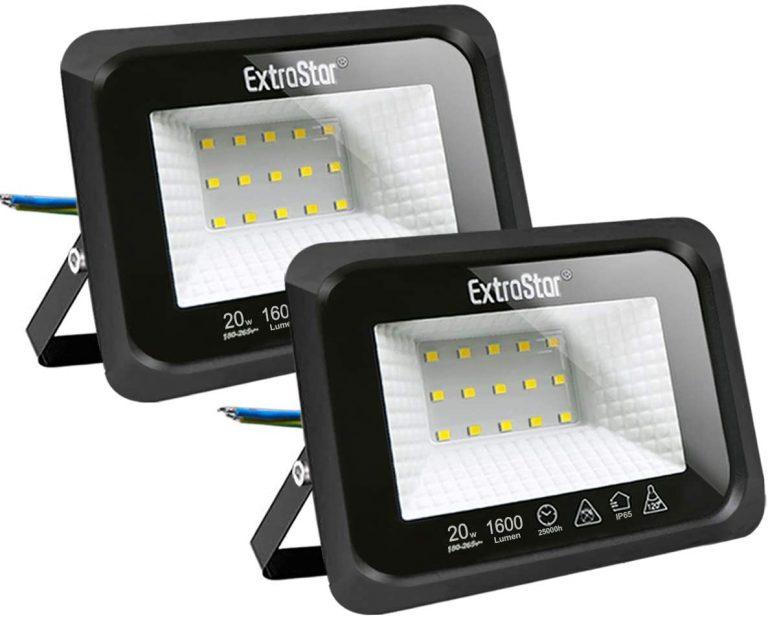 Focos LED exterior 20W Extrastar