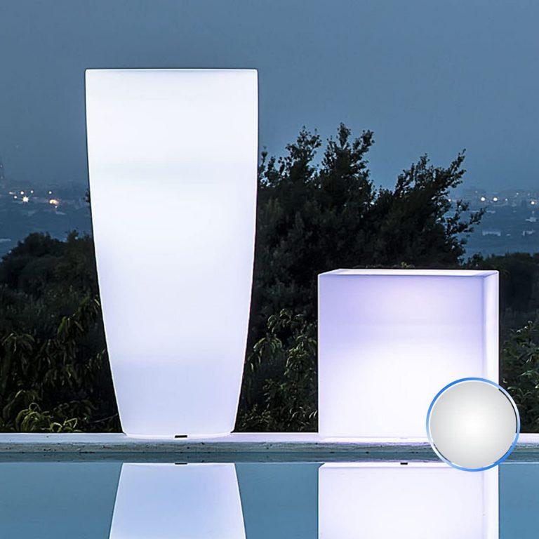 Jarrón redondo 'capacitivo Lamp' con luz interior