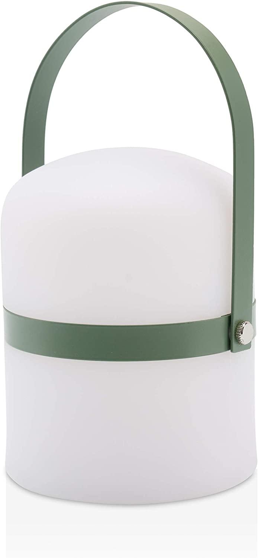 Lámpara de mesa de diseño escandinavo, lámpara de jardín exterior LED,