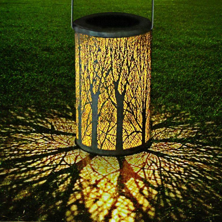 Luz Colgante Solar del Jardín,