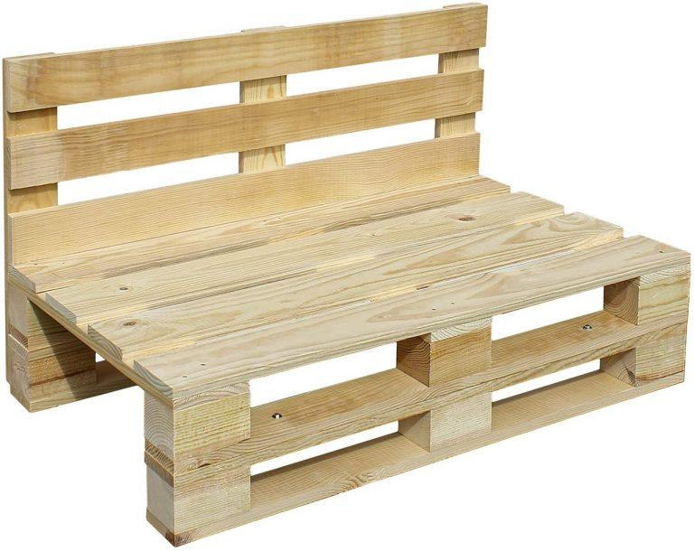 Sofa PALETS Lijado Y Cepillado - Medida 100cm X 60cm