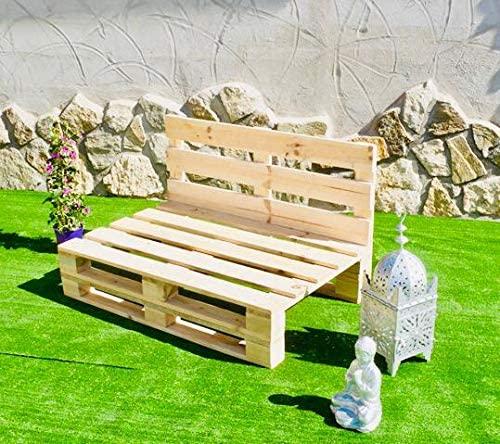 Sofa PALETS Lijado Y Cepillado - Medida 120cm X 80cm