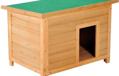 aseta para Perro 85 x 58 x 58cm Madera Impermeable