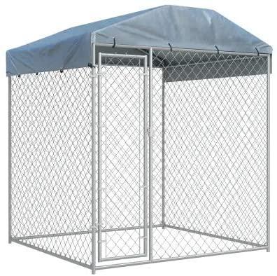 jaula grande para perros de acero