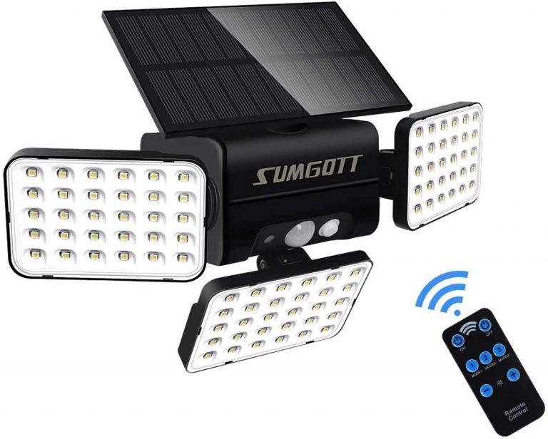 luz de seguridad con sensor de movimiento, foco LED 90,