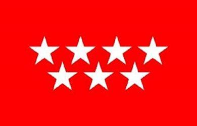 Bandera Comunidad de Madrid 150 x 90 cm