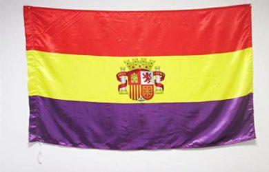 Bandera ESPAÑA Republicana con Escudo 150x90cm