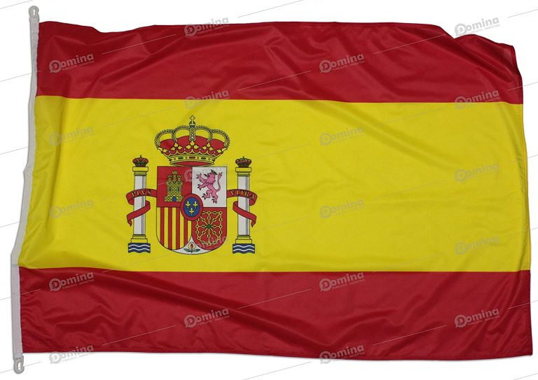 Bandera España 150x100 cm en tela náutico resistente al viento