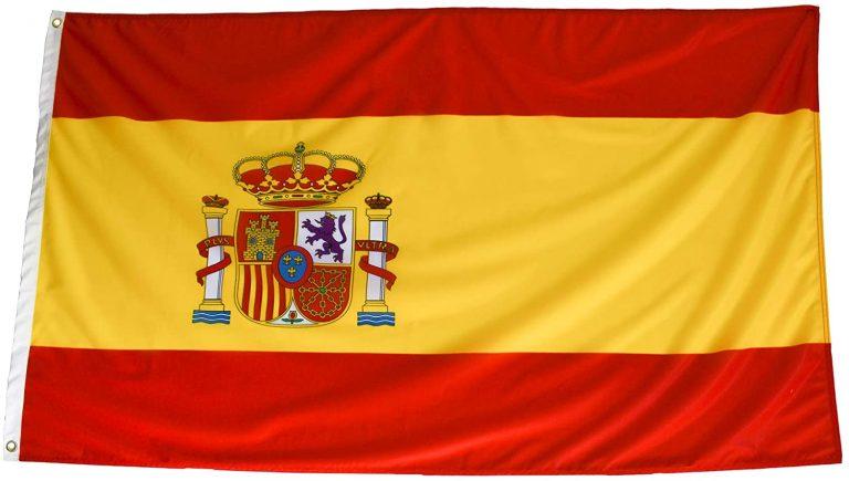Bandera Española Grande para Exterior 150x90 cm