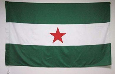 Bandera INDEPENDENTISTA ANDALUZA - NACIONALISMO Andaluz 90 x 150 cm