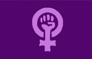 Bandera de Feminista 150 X 90