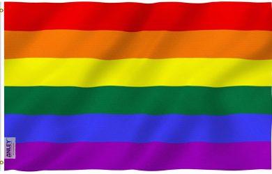 Banderas del Orgullo Gay Poliéster con Arandelas de latón 3 X 5 pies