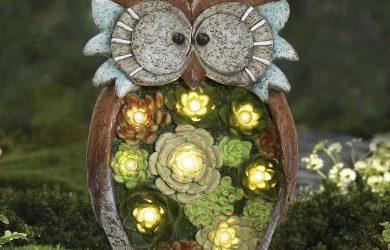 , Decoracion Jardin Exterior, Adorno Solar para Jardin