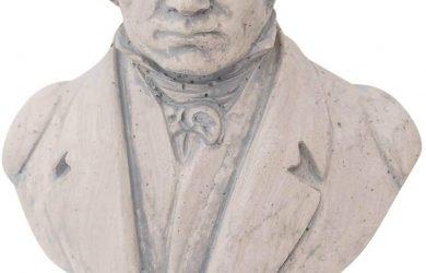Escultura Beethoven Figura Estatua Piedra