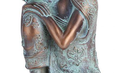 Estatua de Buda Durmiente Tipo Zen