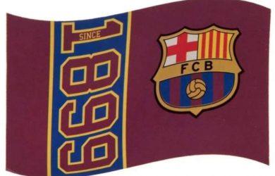 FC Barcelona - Bandera Oficial - 150 x 90 cm