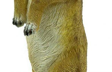 Figura de suricata, escultura de jardín,