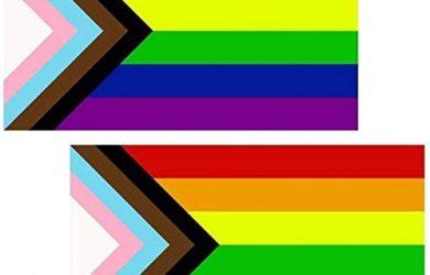 Inclusive del Orgullo de la Bandera 3x5
