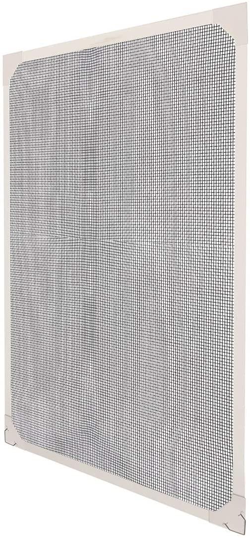 Kit de Pantalla de Insectos con Tiras Magnéticas para Ventanas de Hasta 80x100cm