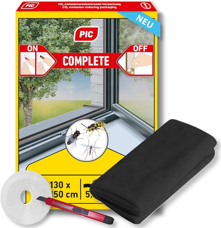 PIC mosquitera para ventana - 130 cm x 150 cm